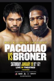 Manny Pacquiao vs. Adrien Broner (2019)