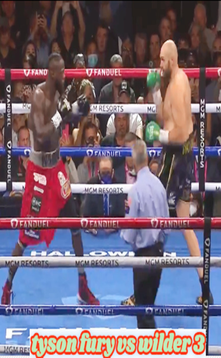 Tyson Fury vs Wilder 3 (2021)